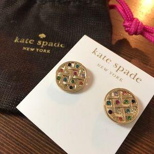 NEW! Kate Spade - Swarovski Crystal Stud Earrings